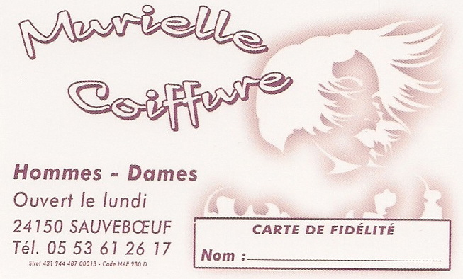 murielle coiffure